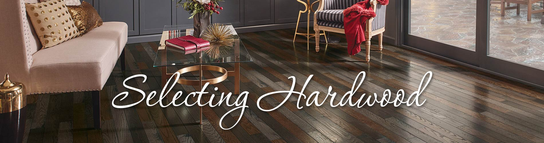 Selecting Hardwood From Floors To Go North Little Rock